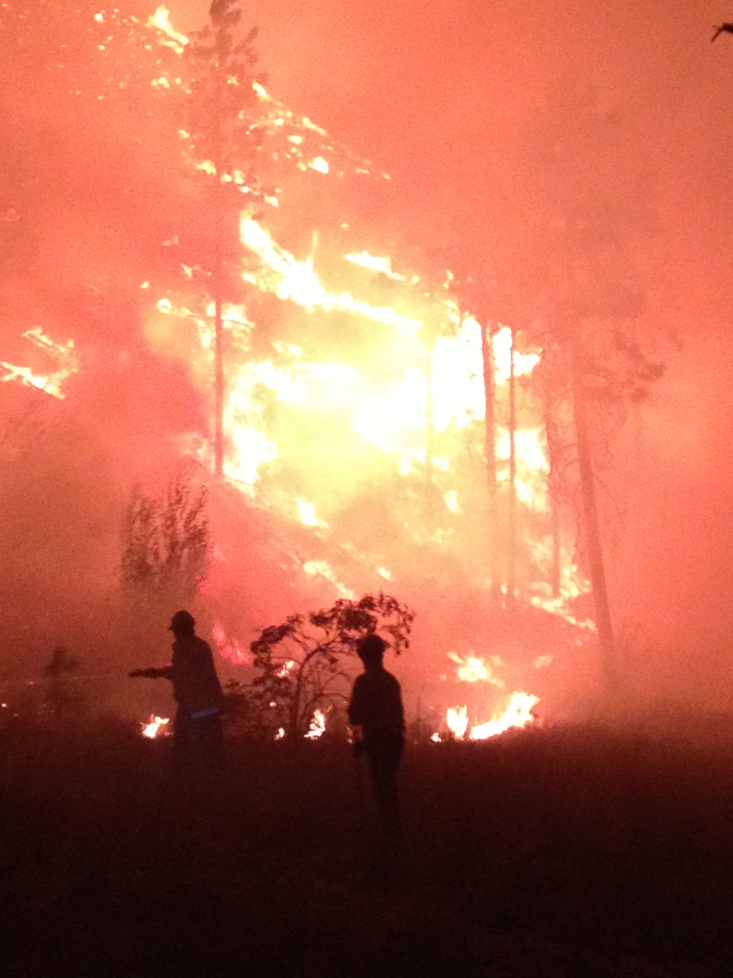 Navarre Coulee Fire